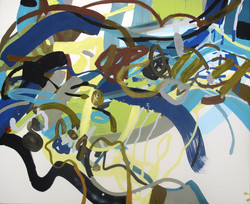 Les choses, l'air, les étages - AILES (81x100 cm)(4)