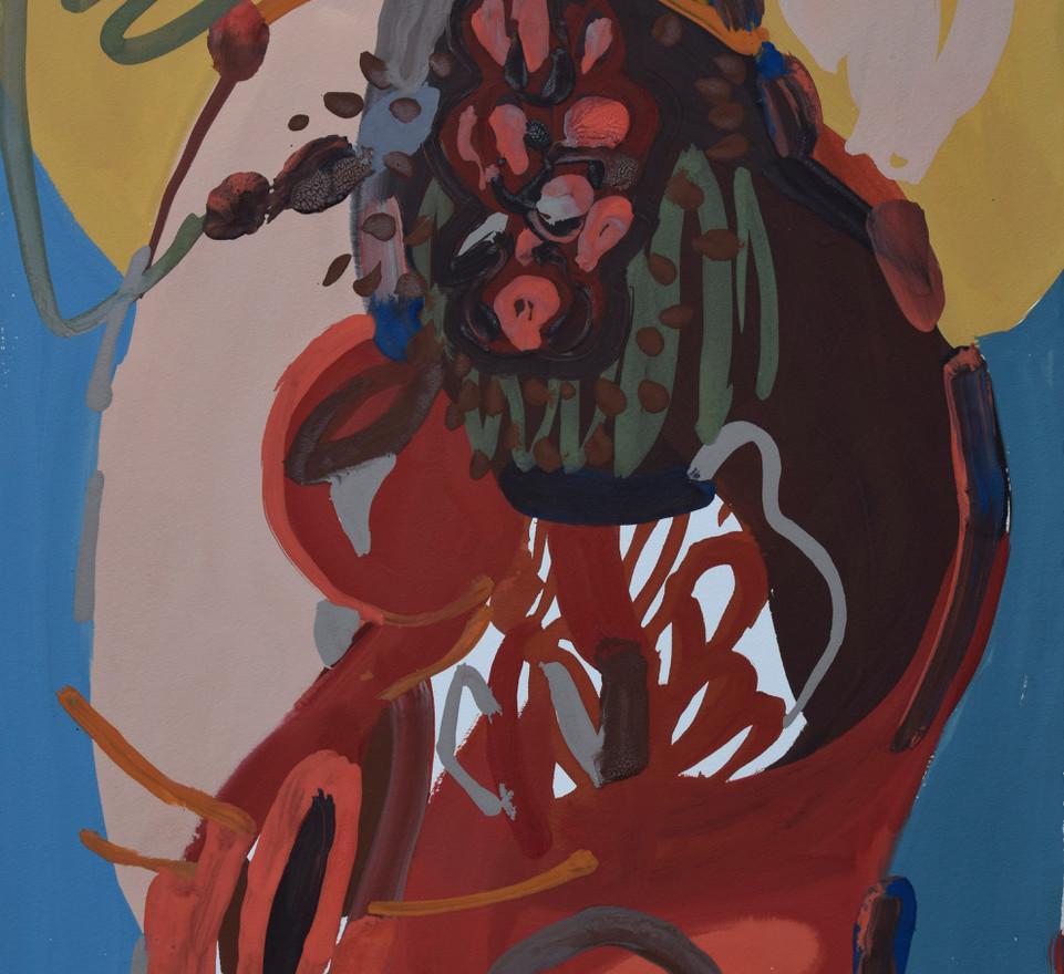 L'esprit du ruisseau (46x38 cm)