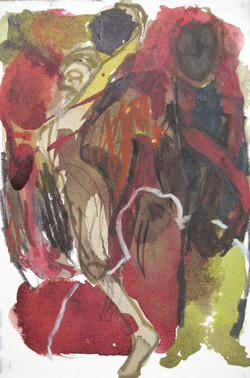 Flaure ensevelie (20x15 cm)