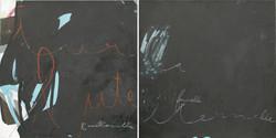Caligraphie DIPTYQUE (60x120 cm)-