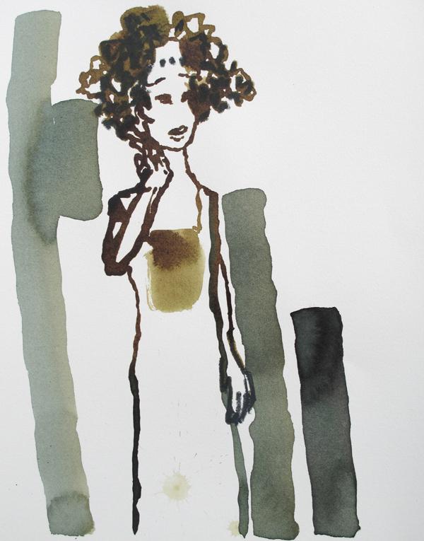 Mademoiselle (35x28 cm)