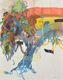 Mother silently shining (162x130 cm) 201