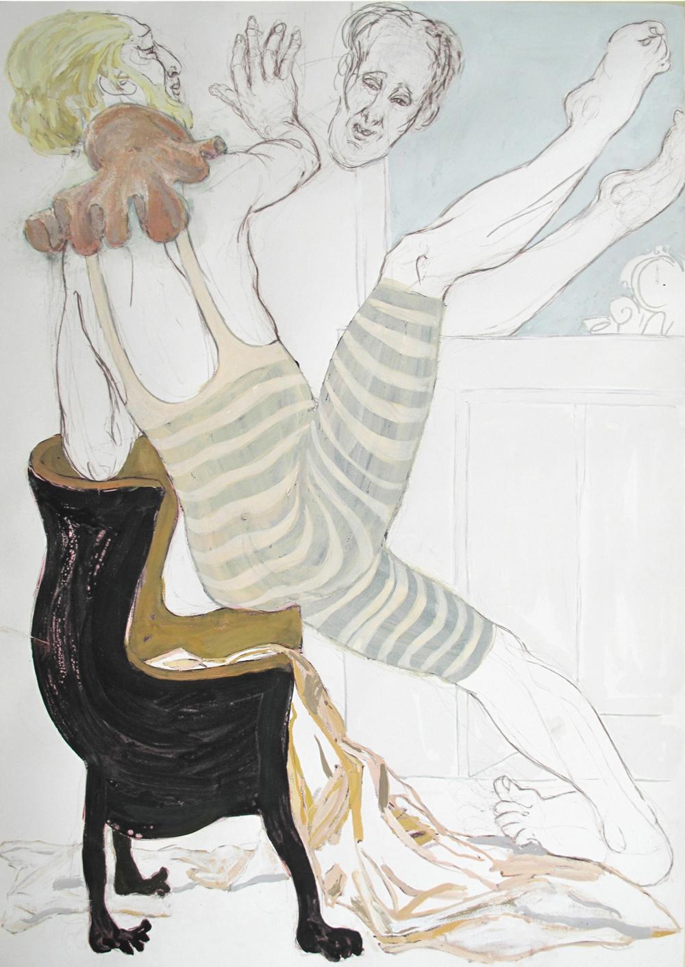 Archibald Thorps (105x75 cm)-