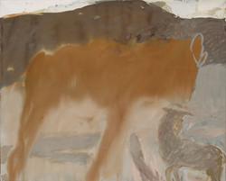 Visite de courtoisie - (81x100 cm)