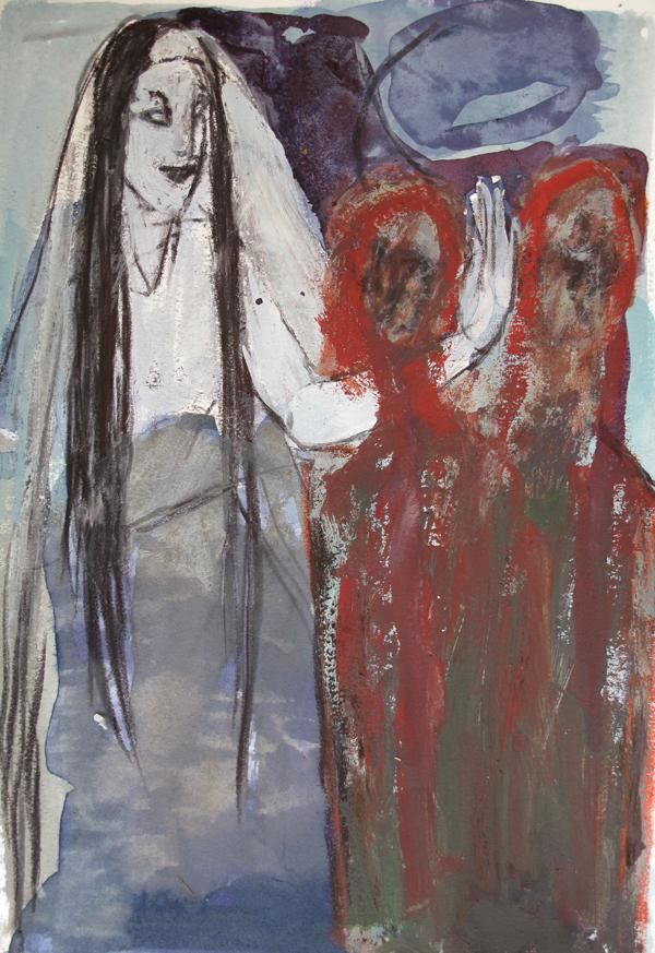 La bénédiction (30x20 cm)