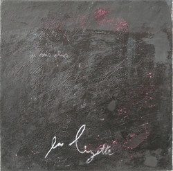 Caligraphie- 1 (30x30 cm)-