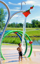 Parc de la Cite, Longueuil, Quebec, Cana