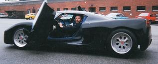Brian testing prototype  Koenigsegg Spor