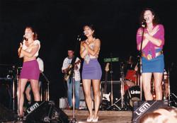 The Cernettes '94 singing at CERN