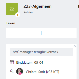 Office 365 Planner door z23 en AVGmanager.nl