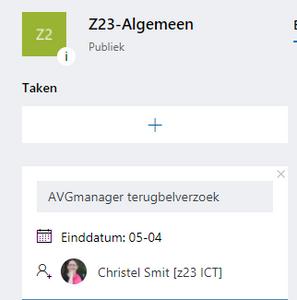 Office 365 Planner door z23 en AVGmanager.nl