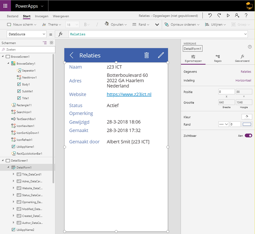 Fun-with-PowerApps en Office 365