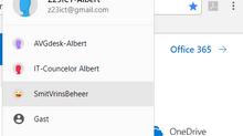 Handigheid met meerdere Office 365 id's