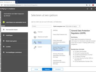 AVG labels toepassen in Office 365