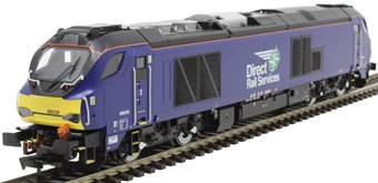 Dapol 4D-022-015 Class 68 68026 in Direct Rail Services plain blue