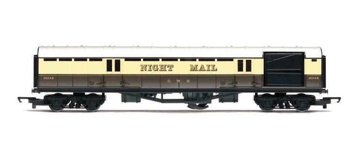 RailRoad Night Mail Operating Coach- R4526