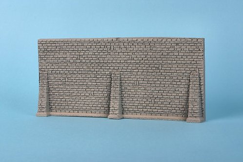 GM31 Grey Stone Wall with Buttress'