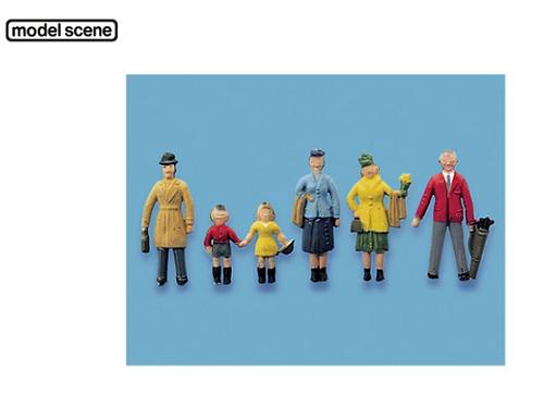 Model Scene 5057 Standing Passengers Set A