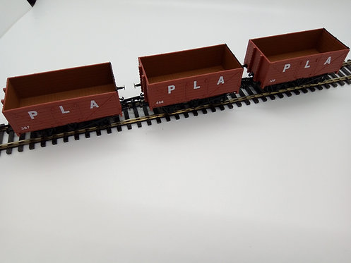 PLA Triple Wagon Pack