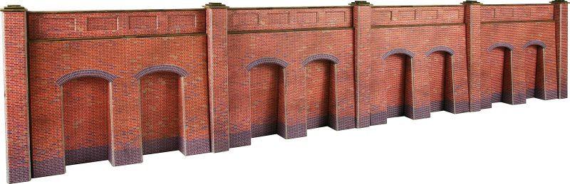PO244 Retaining Wall Red Brick