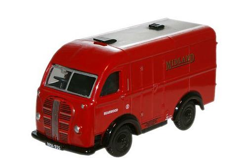 Austin K8 Van Midland Red