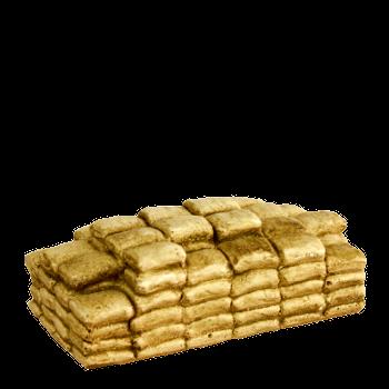 FL 122 Brown cement bags