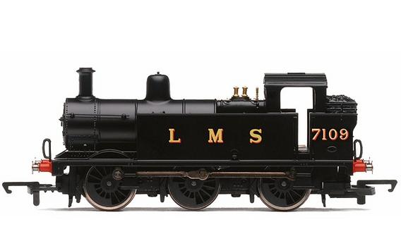 RailRoad, LMS, Class 3F 'Jinty', 0-6-0T, 7109 - Era 3