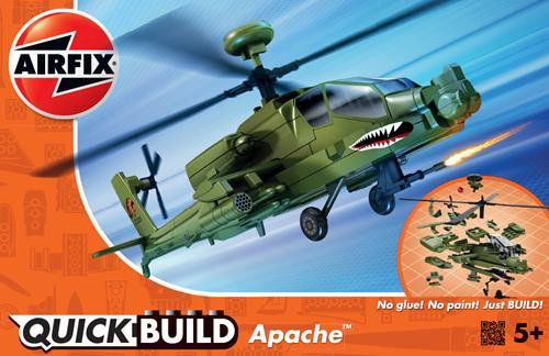 QUICKBUILD APACHE HELICOPTER