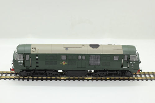 Class 21 BR Green   Small yellow panels