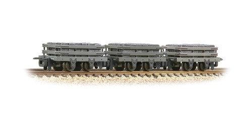 393-075 Slate Wagons 3-Pack Grey with Slate Load