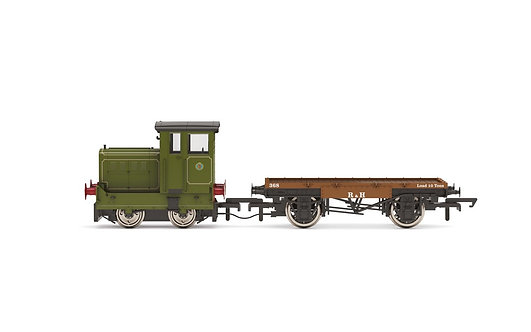 R3704 Ruston & Hornsby Ltd, R&H 48DS, 0-4-0, No. 269595