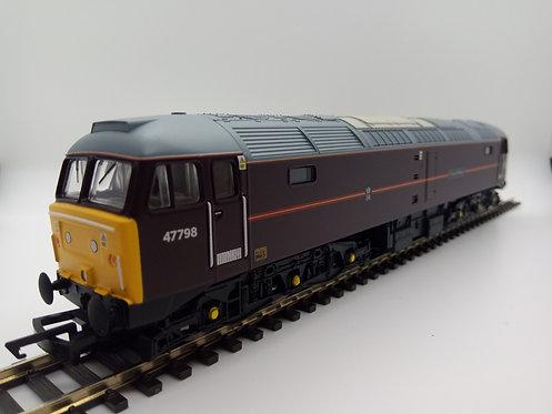 R3757 EWS, Class 47/7, Co-Co, 47798 'Prince William'