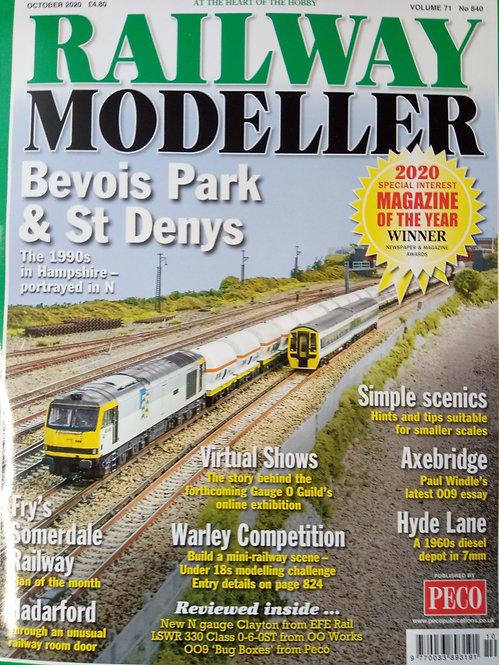 Railway Modeller Magazine October 2020