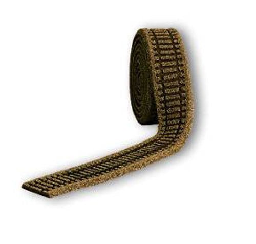 GM210 Brown Ballasted Underlay OO Scale (Flexible 5m Roll)