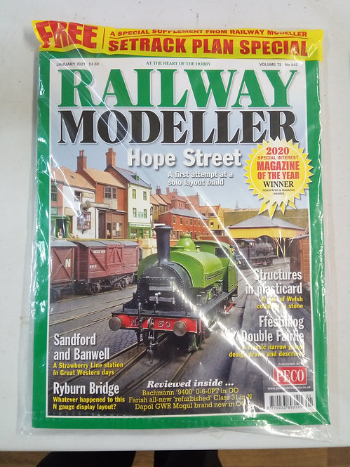 Railway Modeller Magazine January 2021
