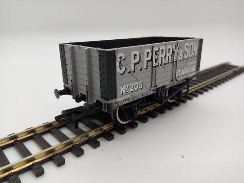 37-117 7 Plank Wagon C.P Perry Grey