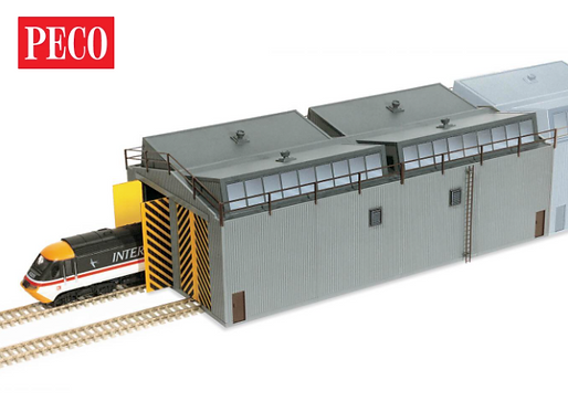 LK-80 Train Shed/Locomotive Depot/Engine Shed