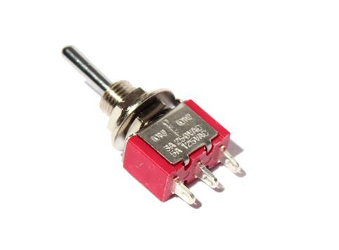 GM510 SPDT (Momentary) Mini-Toggle Point Motor Switch