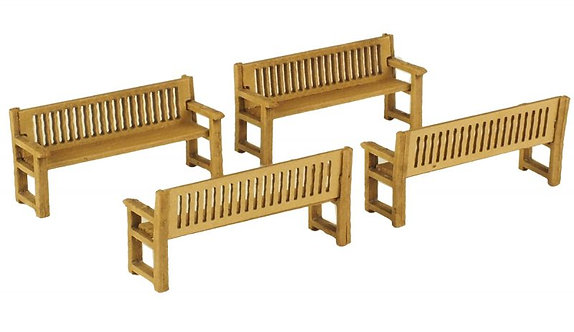 PO503 00 Scale Park Benches