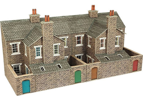 PO277 Low Relief Stone House Backs