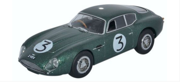 Aston Martin DB4GT Zagato 2 VEV Jim Clark Goodwood 1961