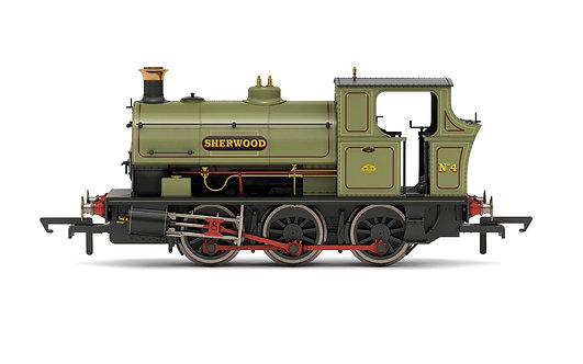 R3693X Sherwood Colliery Co. Ltd, Peckett B2 Class, 0-6-0ST, No.4