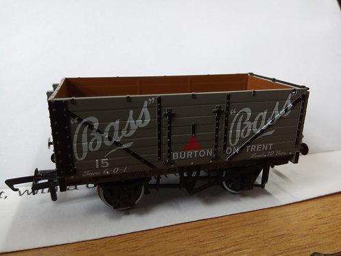 Oxford Rail OR76MW7033 7 Plank Wagon Bass Burton on Trent No.15
