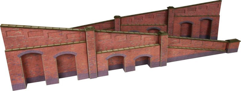 PO248 Tappered Wall red brick