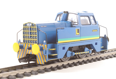 Class 4DH Sentinel in Crossley and Evans livery