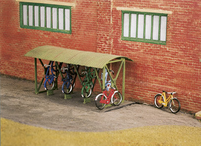 Bicycle Shed and Bicycles kit