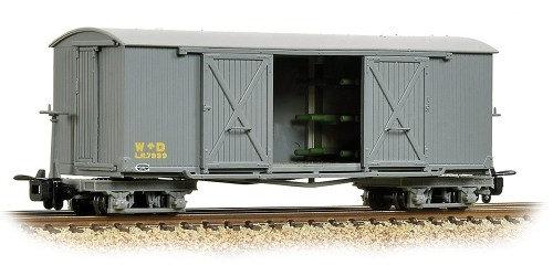 393-025A Bogie Covered Ambulance Van WD Grey 009