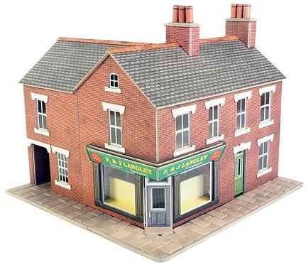 PO263 Corner shop red brick