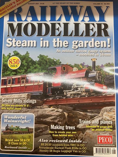 Railway Modeller Magazine August 2021