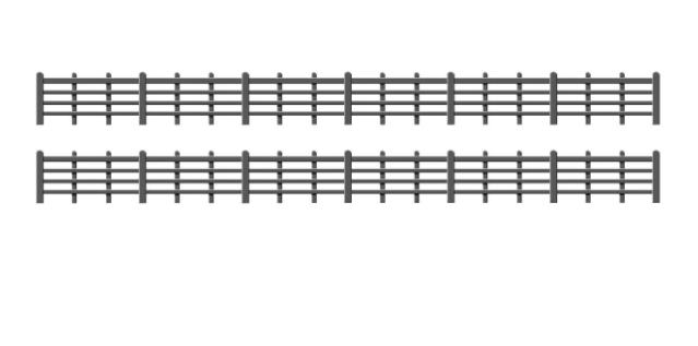 425 Lineside Fencing, Black